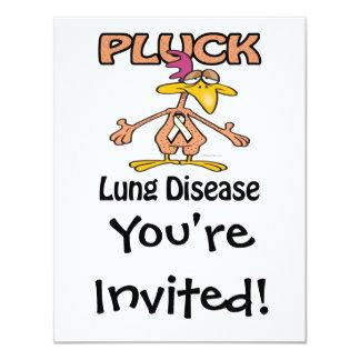 Pluck Lung Disease Awareness Design Card
