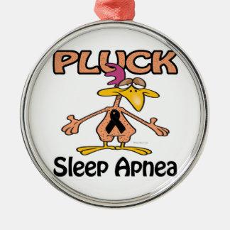 Pluck Sleep Apnea Awareness Design Christmas Tree Ornaments