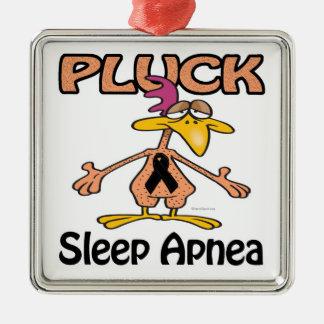 Pluck Sleep Apnea Awareness Design Christmas Ornament