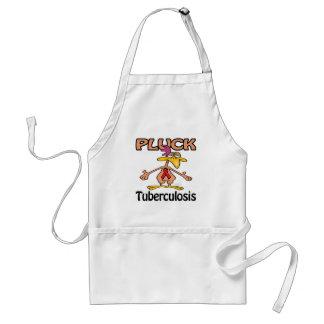 Pluck Tuberculosis Awareness Design Adult Apron
