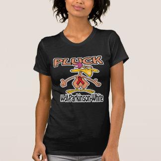 Pluck Wolf-Parkinson-White Awareness Design T Shirt