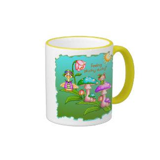 Plucky Ducks Pixel Art Coffee Mug