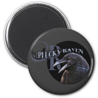 Plucky Raven Magnets