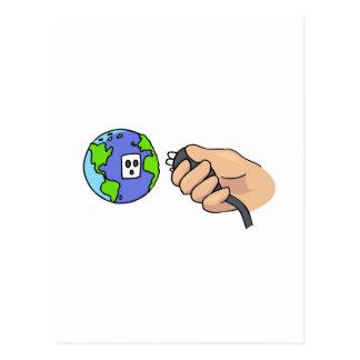 Plug in postcard