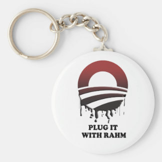 PLUG IT WITH RAHM KEY CHAIN