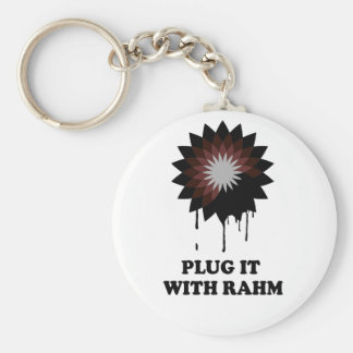 PLUG IT WITH RAHM KEY CHAINS
