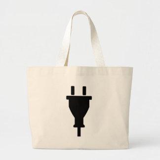 Plug Large Tote Bag