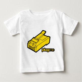 Plug me infant t-shirt