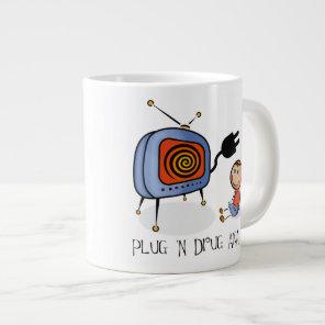 Plug N Drug AKA TV Giant Coffee Mug