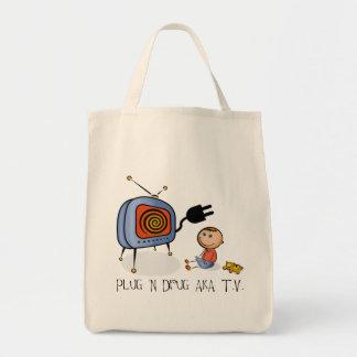 Plug N Drug AKA TV Tote Bag