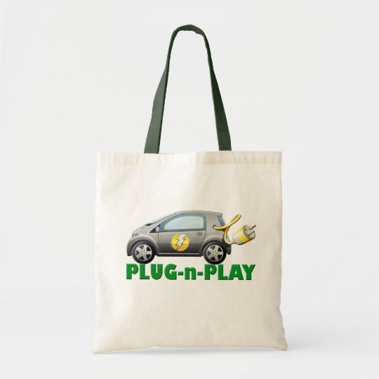 PLUG-N-PLAY ELECTRIC CAR TOTE BAG