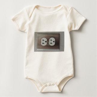 Plug Outlet Baby Bodysuit
