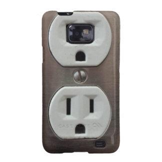 Plug Outlet Samsung Galaxy SII Case