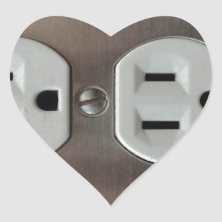 Plug Outlet Heart Sticker