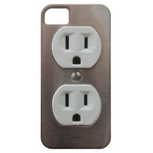 Plug Outlet iPhone SE/5/5s Case
