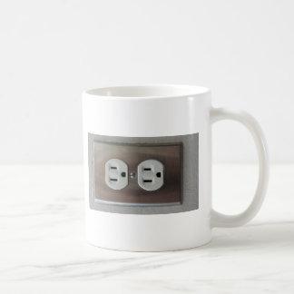 Plug Outlet Coffee Mugs
