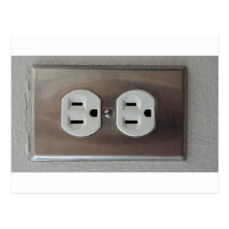 Plug Outlet Postcard