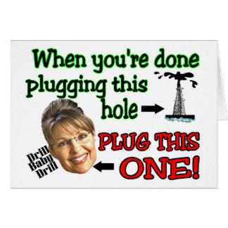 plug this hole card