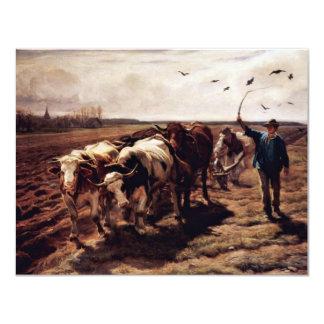 Plügende Ox By Koller Rudolf (Best Quality) Announcement