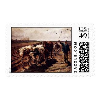 Plügende Ox By Koller Rudolf (Best Quality) Postage Stamps