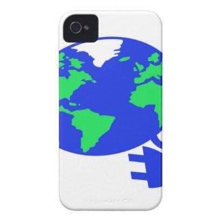 plugged in world copy.jpg iPhone 4 Case-Mate case