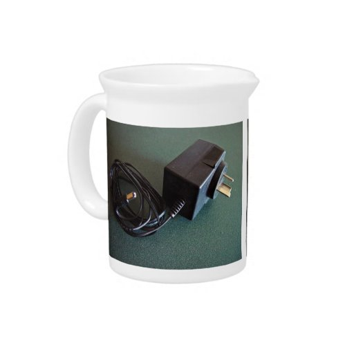 Plugpack with barrel connector drink pitchers