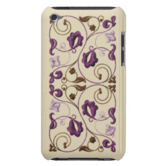 Plum and Brown Vine Barely There iPod Case