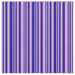 [ Thumbnail: Plum and Dark Blue Colored Pattern Fabric ]