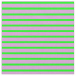 [ Thumbnail: Plum and Lime Lines/Stripes Pattern Fabric ]