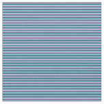 [ Thumbnail: Plum and Teal Colored Pattern Fabric ]