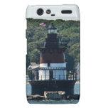 Plum Beach Lighthouse Droid RAZR Covers