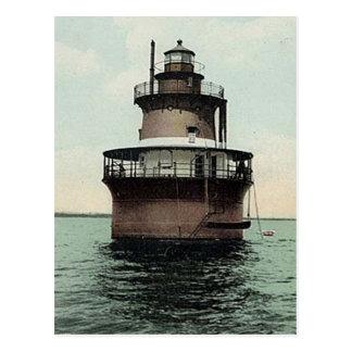 Plum Beach Lighthouse Postcard