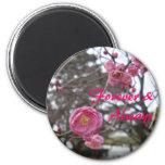 Plum blossom 1 magnet