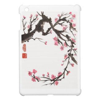 Plum Blossom Curve iPad Mini Case