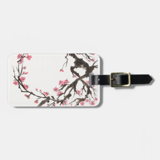 Plum Blossom Curve Tag Bag Tags