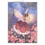 """Plum Blossom Fairy"" Card"