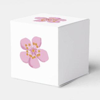 Plum blossom favor box
