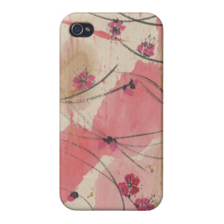 Plum Blossom Grass iPhone Case iPhone 4 Case