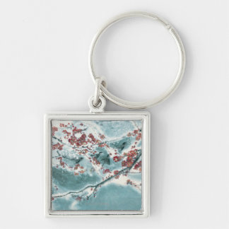 Plum Blossom in Snow Key Chains