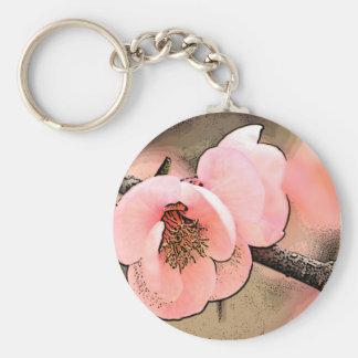 Plum Blossom Key Chain