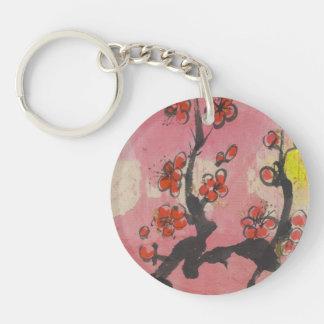 Plum Blossom Keychain