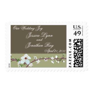 Plum Blossom Love Stamp