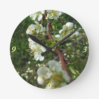 Plum Blossom Wall Clock