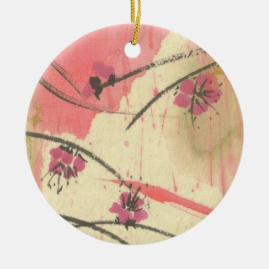 Plum Blossom Wisps Ornament
