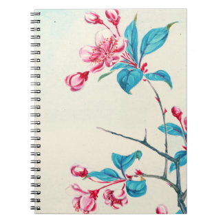 Plum Blossoms 1870 Note Book