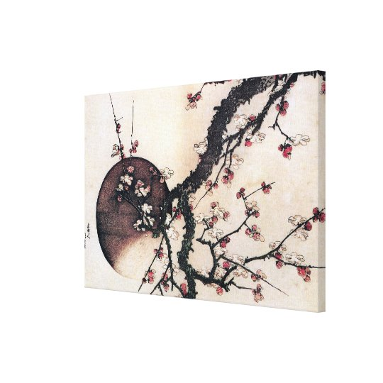 Plum Blossoms and the Moon, Canvas Print