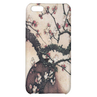 Plum Blossoms and the Moon, Hokusai iPhone 5C Cover