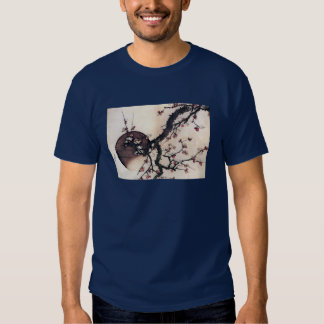Plum Blossoms and the Moon, Hokusai T Shirts
