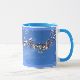 Plum Blossoms, Blue Sky Mugs