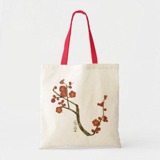 Plum Blossoms, Ogata Kōrin Fine Vintage Budget Tote Bag